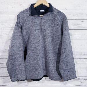 adidas half zip sweater!